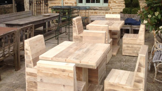 Hospitality outdoor seating